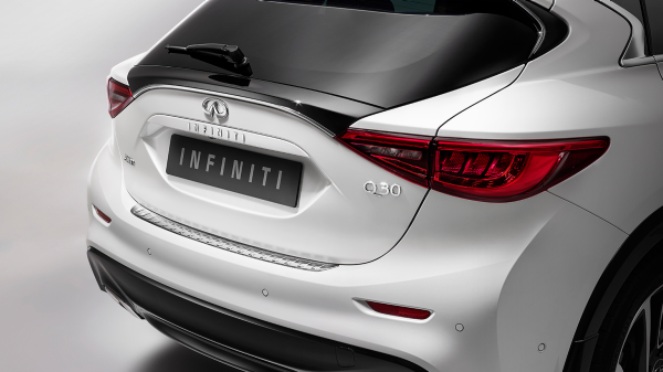 INFINITI Q30 Premium Active Crossover Accessories Rear Bumper Protector