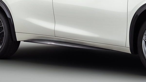 INFINITI Q30 Premium Active Crossover Accessories Carbon Look Side Sills