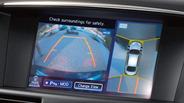 INFINITI Q70 Luxury Sedan Safety Around View Monitor