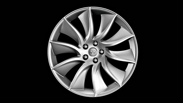 INFINITI QX70 Crossover SUV Accessories Silver Alloy Wheel