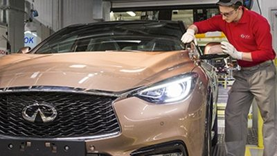 Infiniti Q30 officially starts production in Sunderland, UK