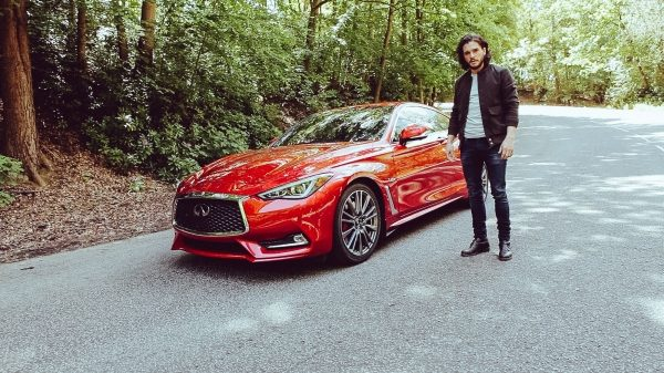 Kit Harington takes the new INFINITI Q60