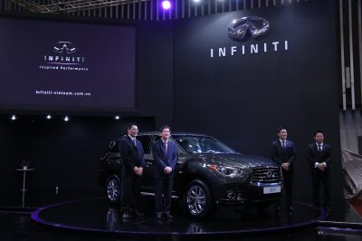INFINITI LAUNCHES QX60 CROSSOVER AT 2014 VIETNAM MOTOR SHOW
