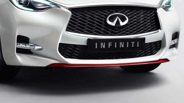 INFINITI Q30 Premium Active Crossover Accessories Bumper Finisher Red 1