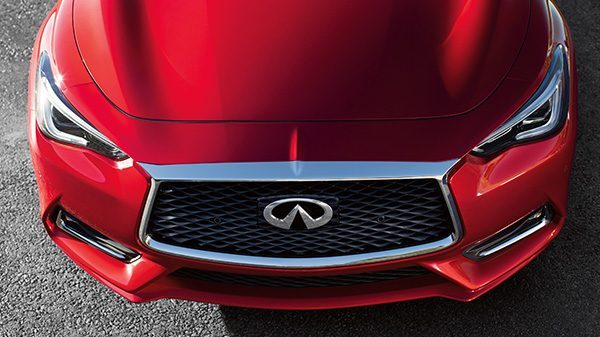 INFINITI Q60 Sporty Coupe Exterior Front End Aerodynamic Advantage