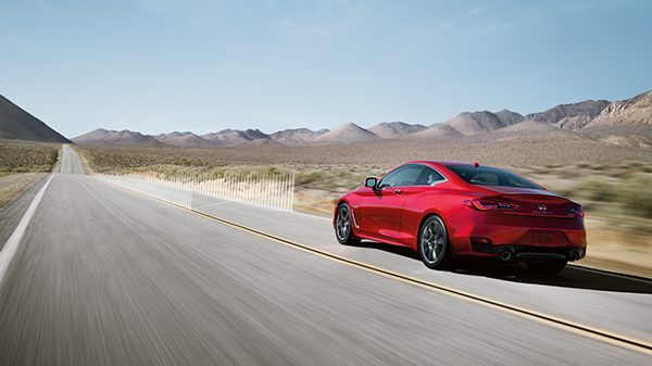 INFINITI Q60 Sporty Coupe Safety Active Lane Control
