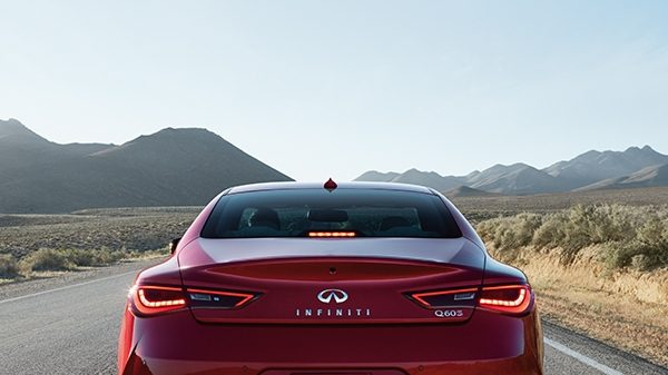 INFINITI Q60 Sporty Coupe Safety Blind Spot Warning And Intervention