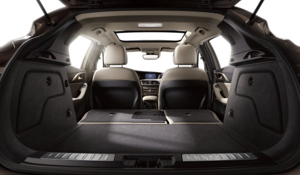 2017 INFINITI QX30 Crossover Interior Trunk Space Cargo Capacity