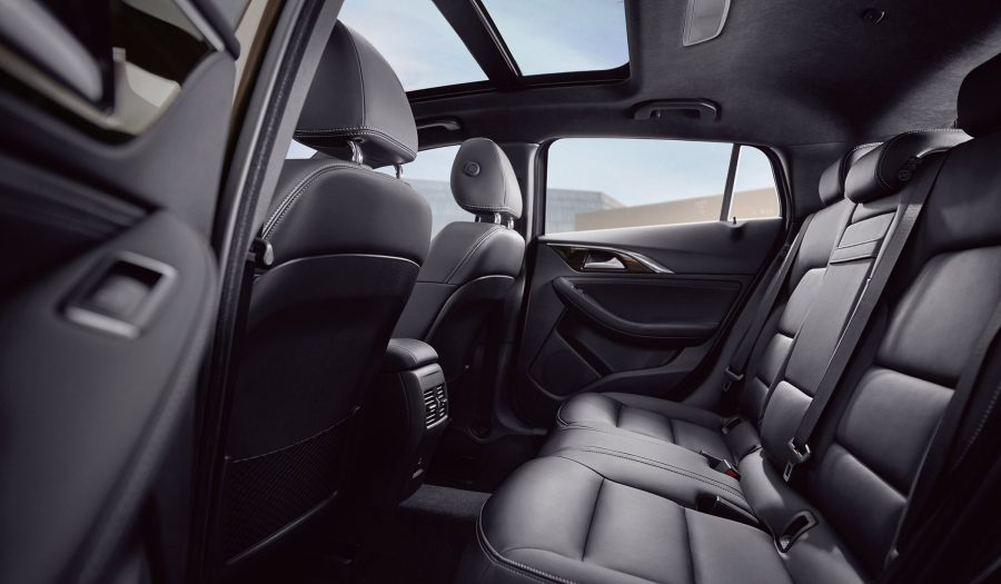 INFINITI QX30 Crossover Interior Designed In Motion Rear Seats
