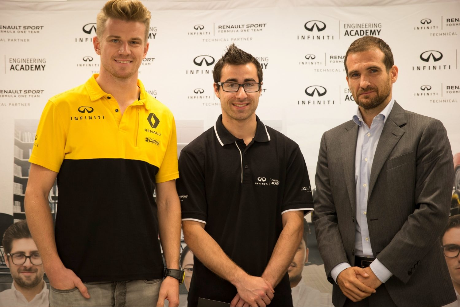 Jacob Debono awarded a unique one- year placement to work with both INFINITI and Renault Sport Formula One™ Team.