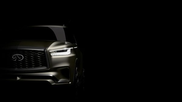 INFINITI teases New York unveil