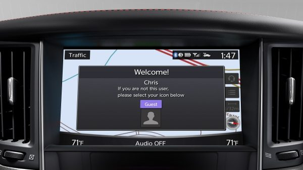 2018 INFINITI Q50 Sport Sedan | INFINITI InTouch Welcome Screen