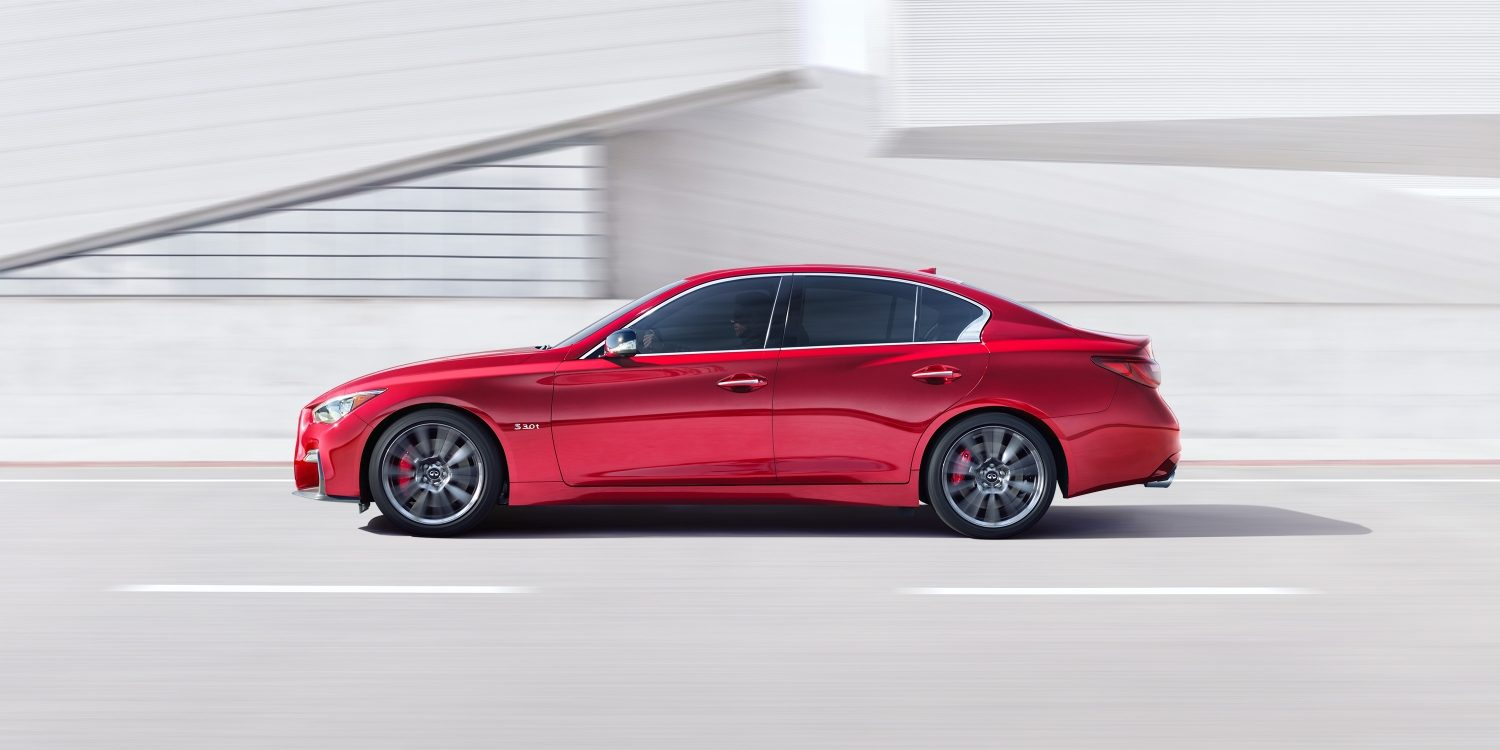 2018 INFINITI Q50 Red Sport Sedan Performance | Design & Artistry