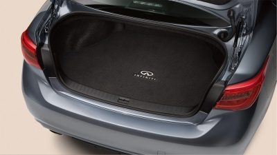 2018 INFINITI Q50 Red Sport Sedan Design | Trunk Capacity Accessories