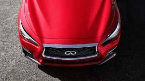2018 INFINITI Q50 Sports Sedan Safety Double Arch Grille