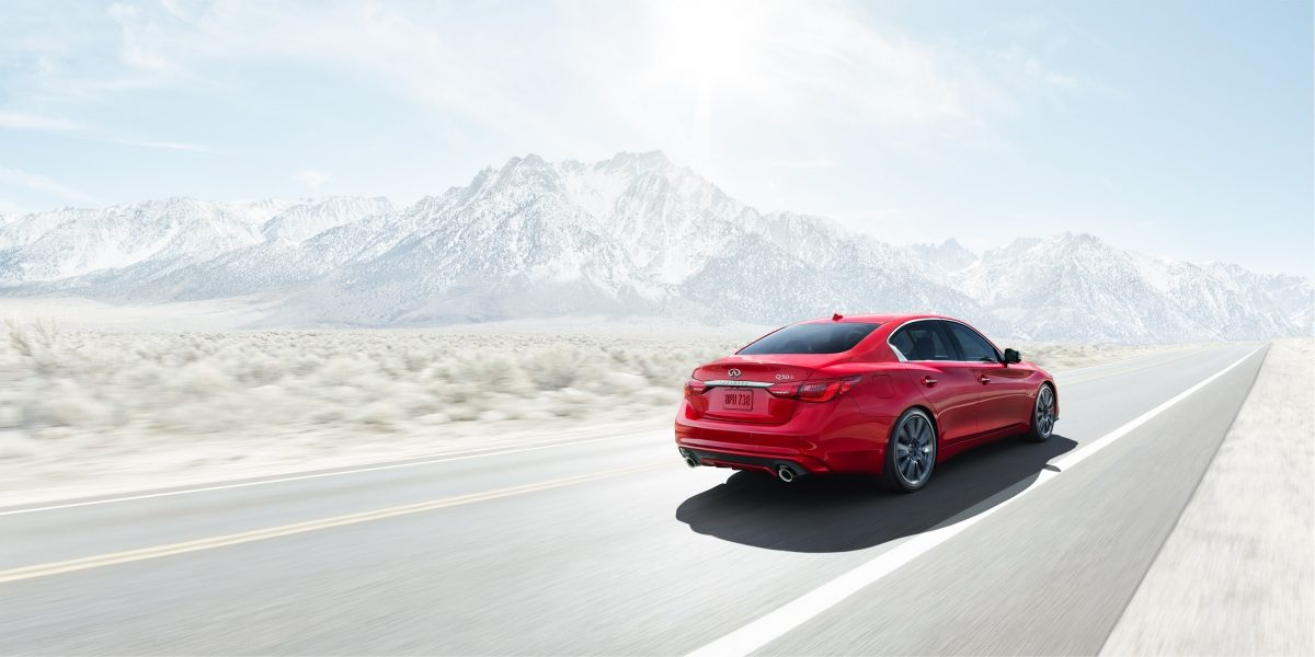 2018 INFINITI Q50 Sports Sedan Safety IIHS Top Safety Pick Award