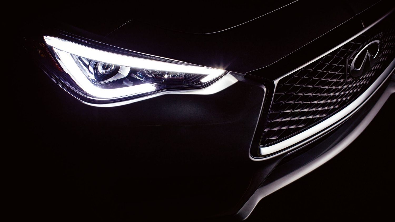 2018 INFINITI Q60 Red Sport 400 Sports Coupe Design | Illuminating LED Headlights