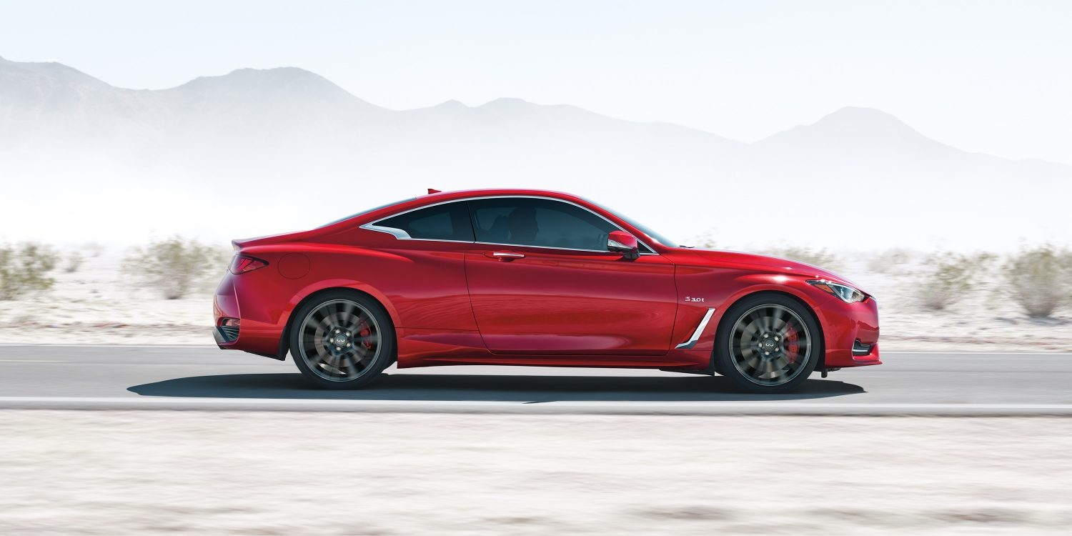 2018 INFINITI Q60 Red Sport 400 Sports Coupe | Design and Artistry