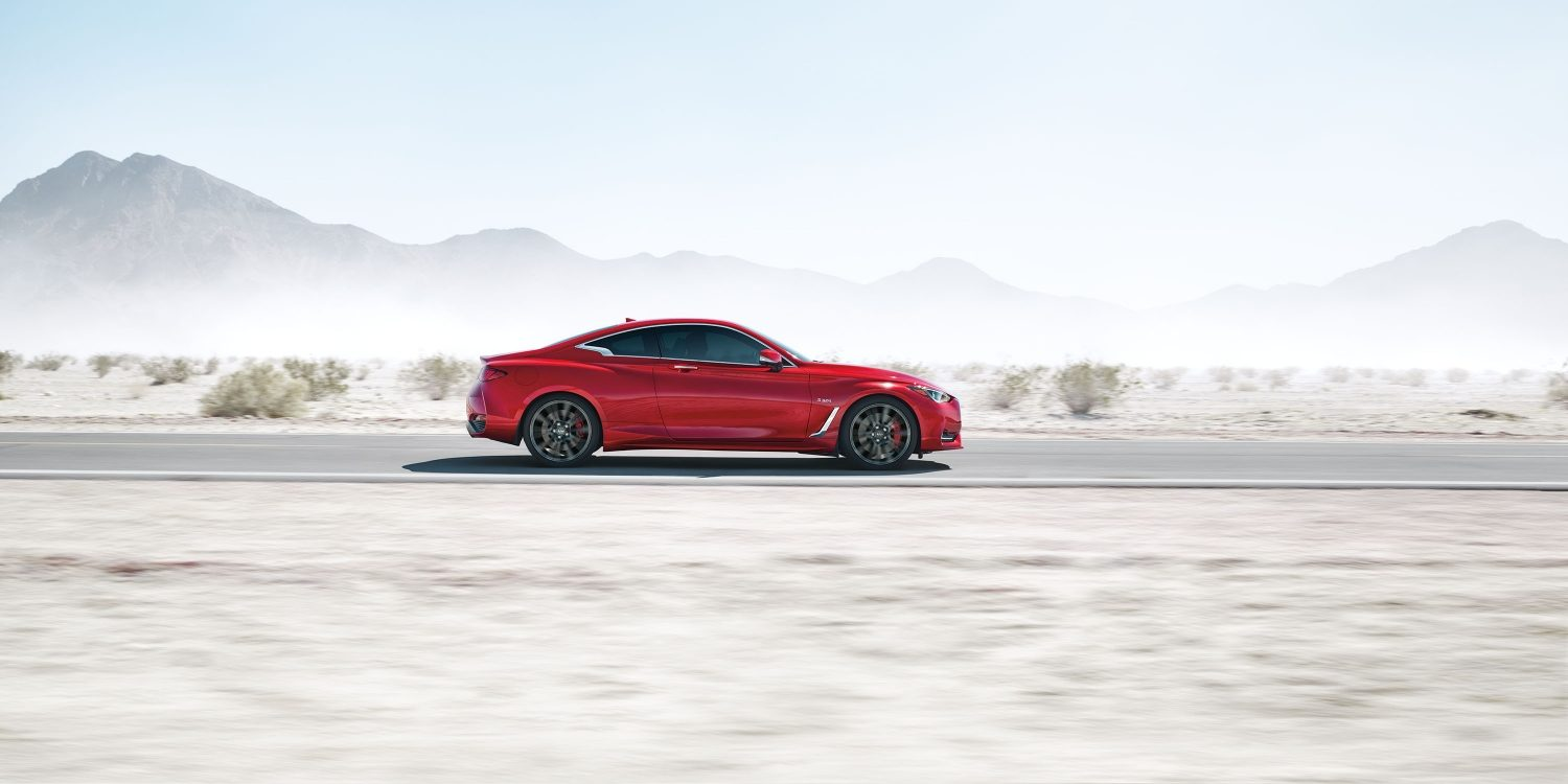 2018 INFINITI Q60 Red Sport 400 Sports Coupe Design Gallery | 400 Horsepower 3.0-liter V6 Twin Turbo Engine