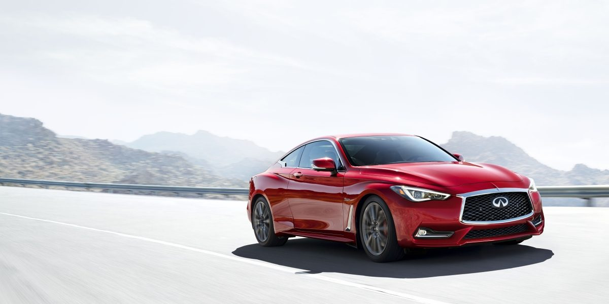 2018 INFINITI Q60 Red Sport 400 Sports Coupe Front Fascia