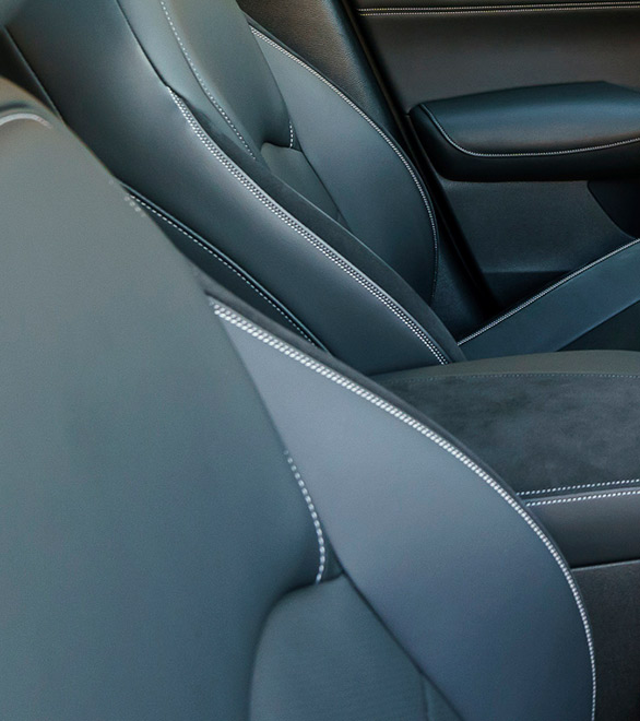 2019 INFINITI QX50 Leather Stitching Details