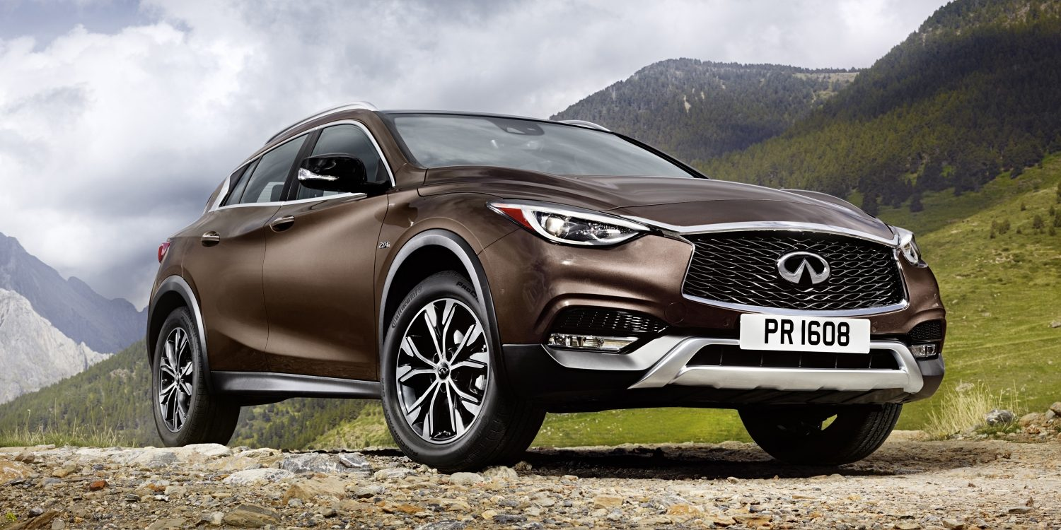 2018 INFINITI QX30 Premium Crossover Design and Styling