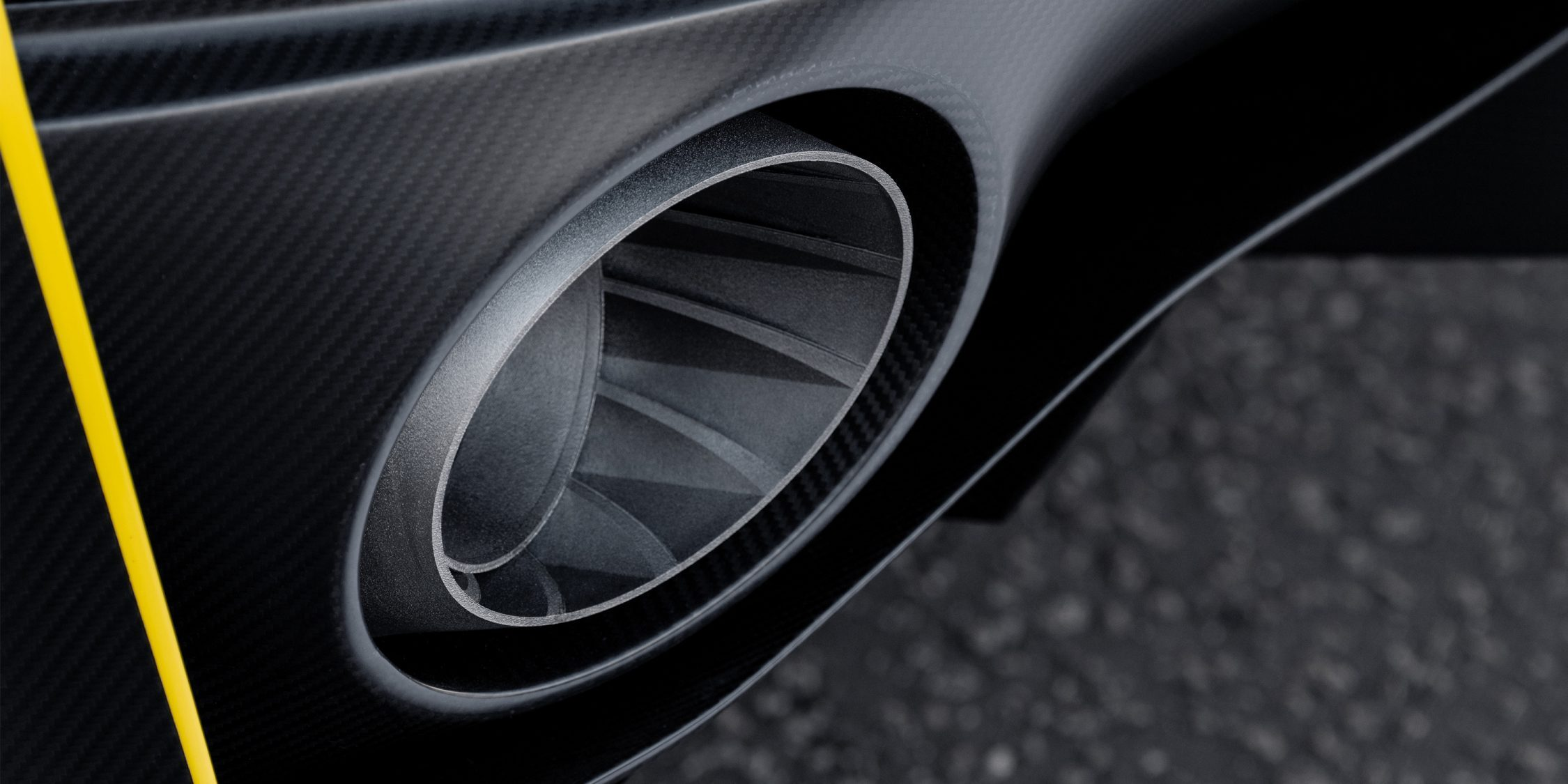INFINITI Project S Black muffler exhaust system