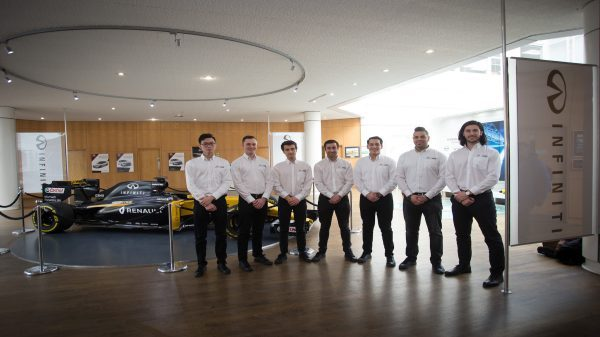 INFINITI launches 2018 Engineering Academy offering seven dream jobs in Formula 1™