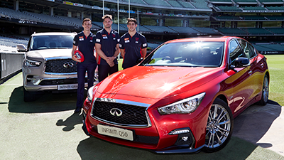 INFINITI drives the Melbourne Football Club in 2018