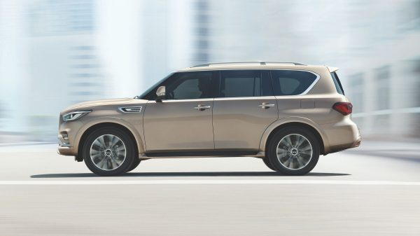 NEW LOOK INFINITI QX80 DESIGNED TO ENTICE