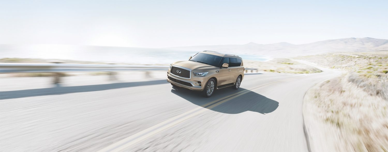 New Look INFINITI QX80