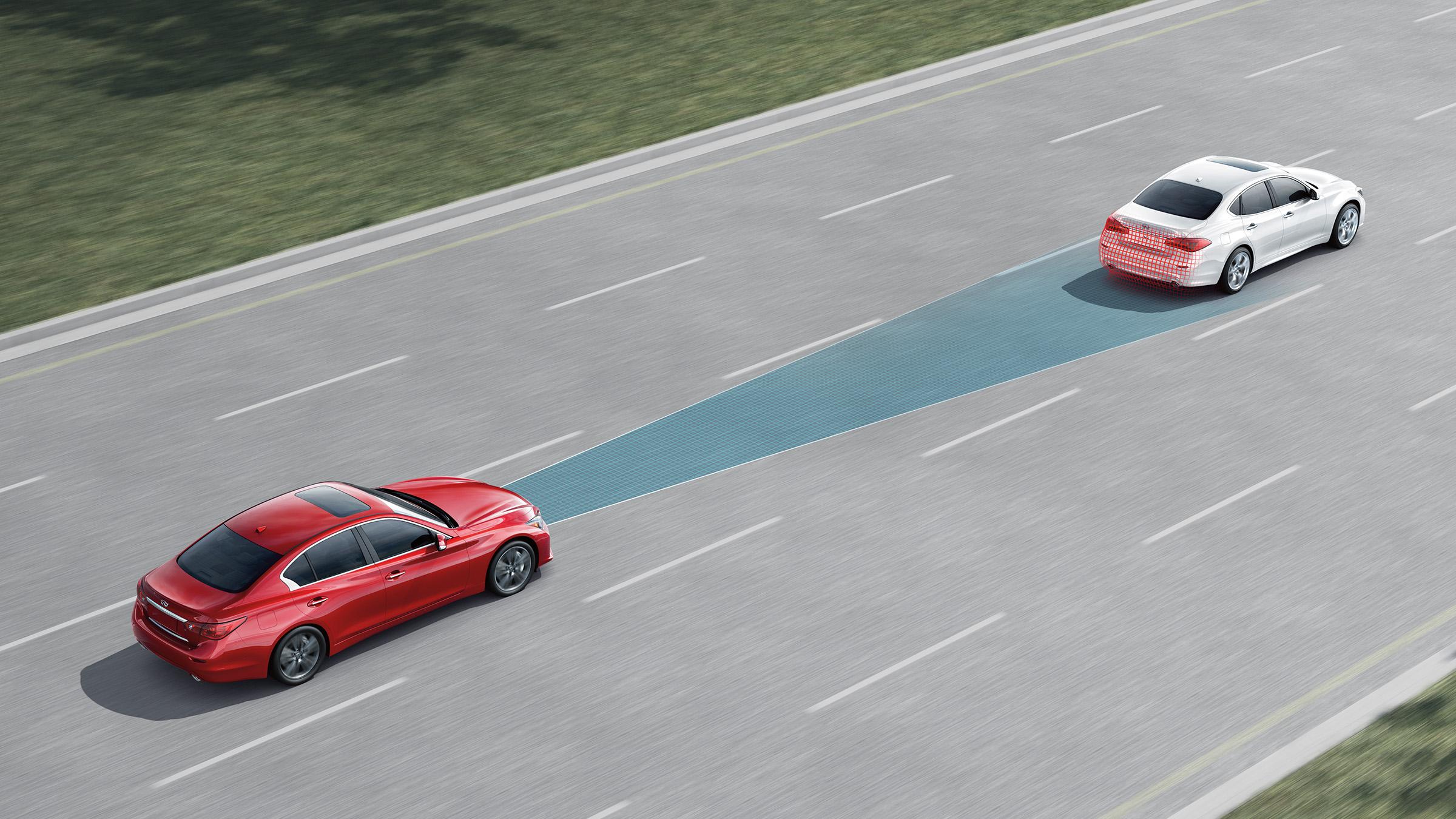 智能剎車輔助及行人監測系統