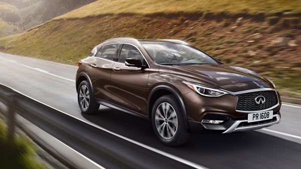 2018 INFINITI QX30 Crossover Performance Features