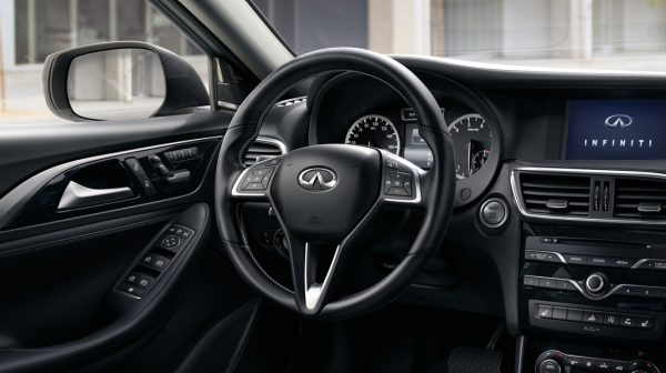 2018 INFINITI QX30 Premium Crossover Leather Steering Wheel