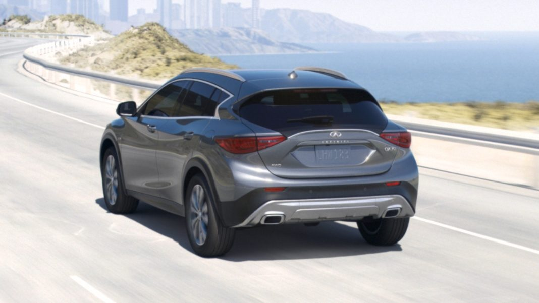 2018 INFINITI QX30 Crossover Safety Features