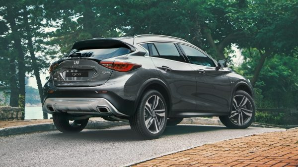 2017 INFINITI QX30 Crossover Exterior Design Overview On Hill