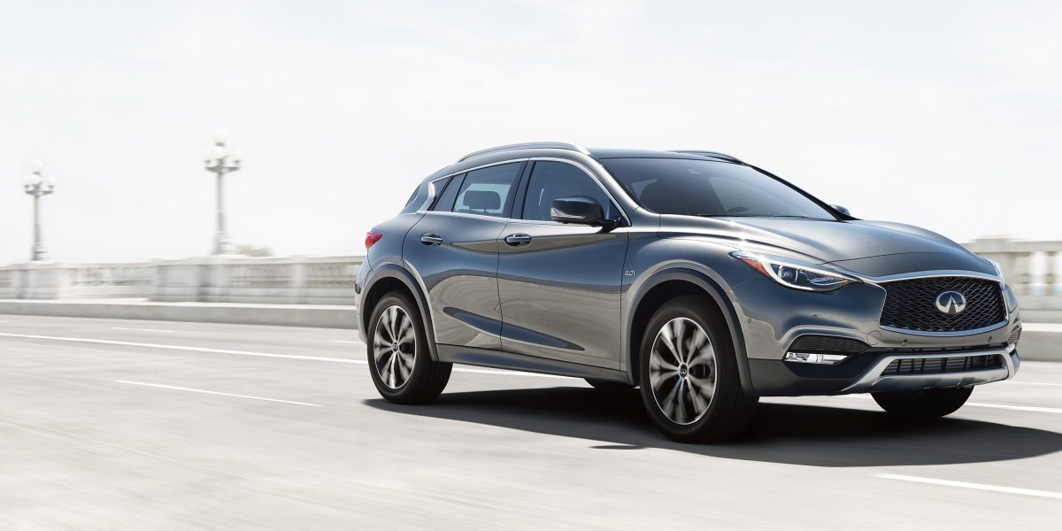 2018 INFINITI QX30 Premium Crossover 2L Turbocharged Engine
