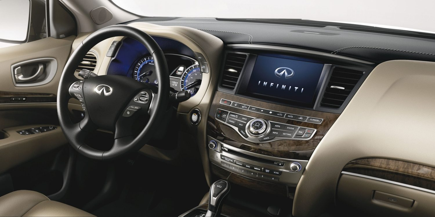 2018 INFINITI QX60 Crossover INFINITI InTouch services