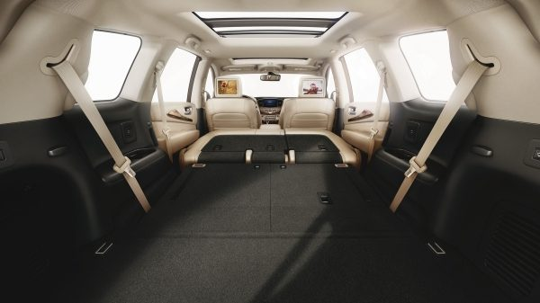 2019 INFINITI QX60 Crossover interior cargo space