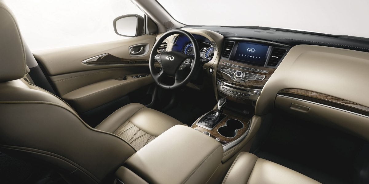 2018 INFINITI QX60 Crossover Wheat leather seats
