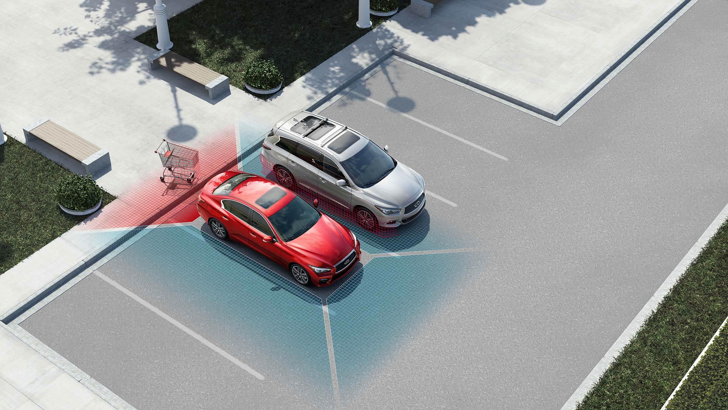 倒車碰撞預防系統