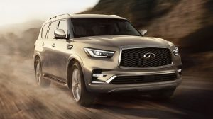 2018 INFINITI QX80 Luxury SUV Performance And Power Thumb