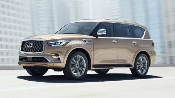 2018 INFINITI QX80 SUV Design | Exterior Design Features Including New 22-inch Wheels