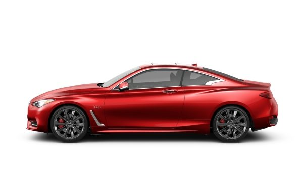 INFINITI Models Q60 Sports Coupe Red