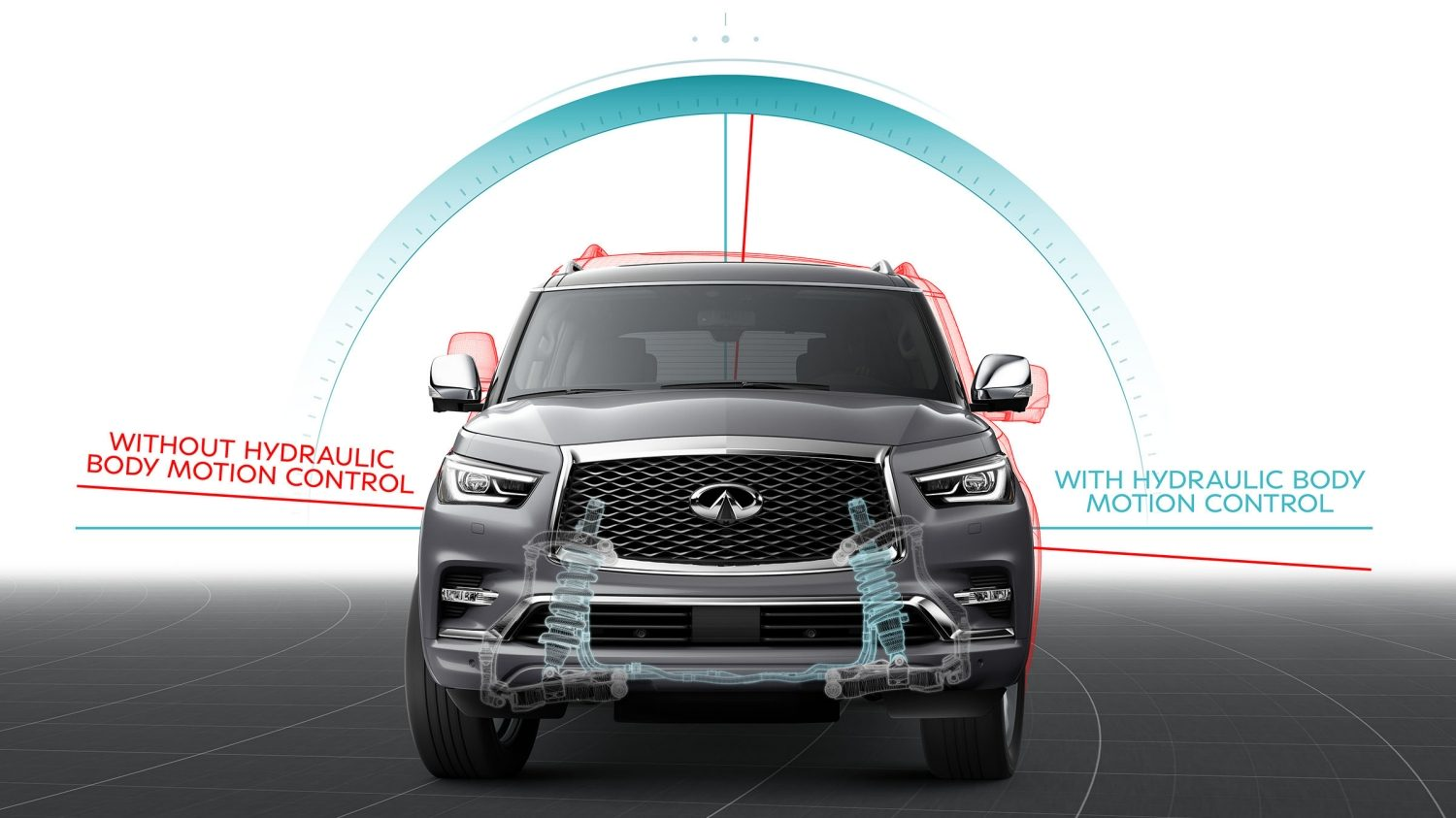 2018 INFINITI QX80 SUV Performance  | Hydraulic Body Motion Overview