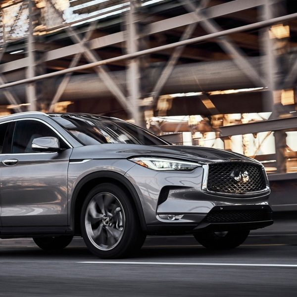 2020 INFINITI QX50 Side View Spaceport Event