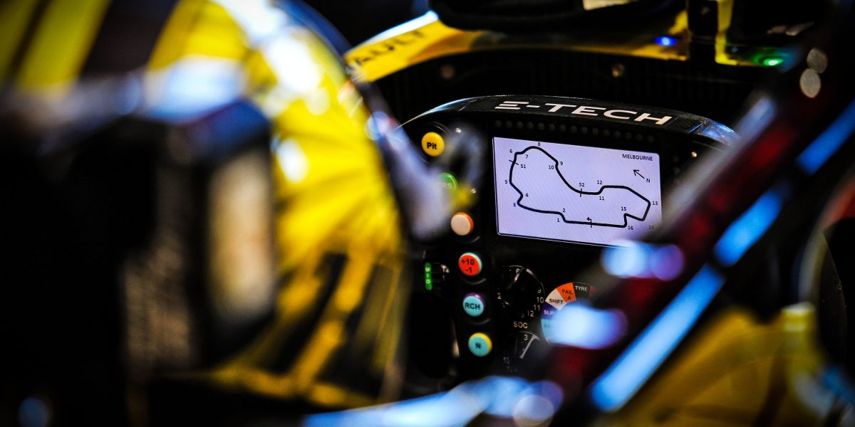 INFINITI and Renault Sport Formula 1 Dashboard