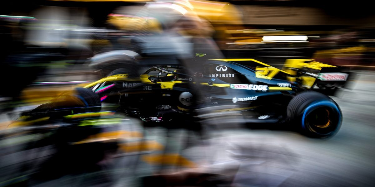 INFINITI and Renault Sport Formula 1 Turning