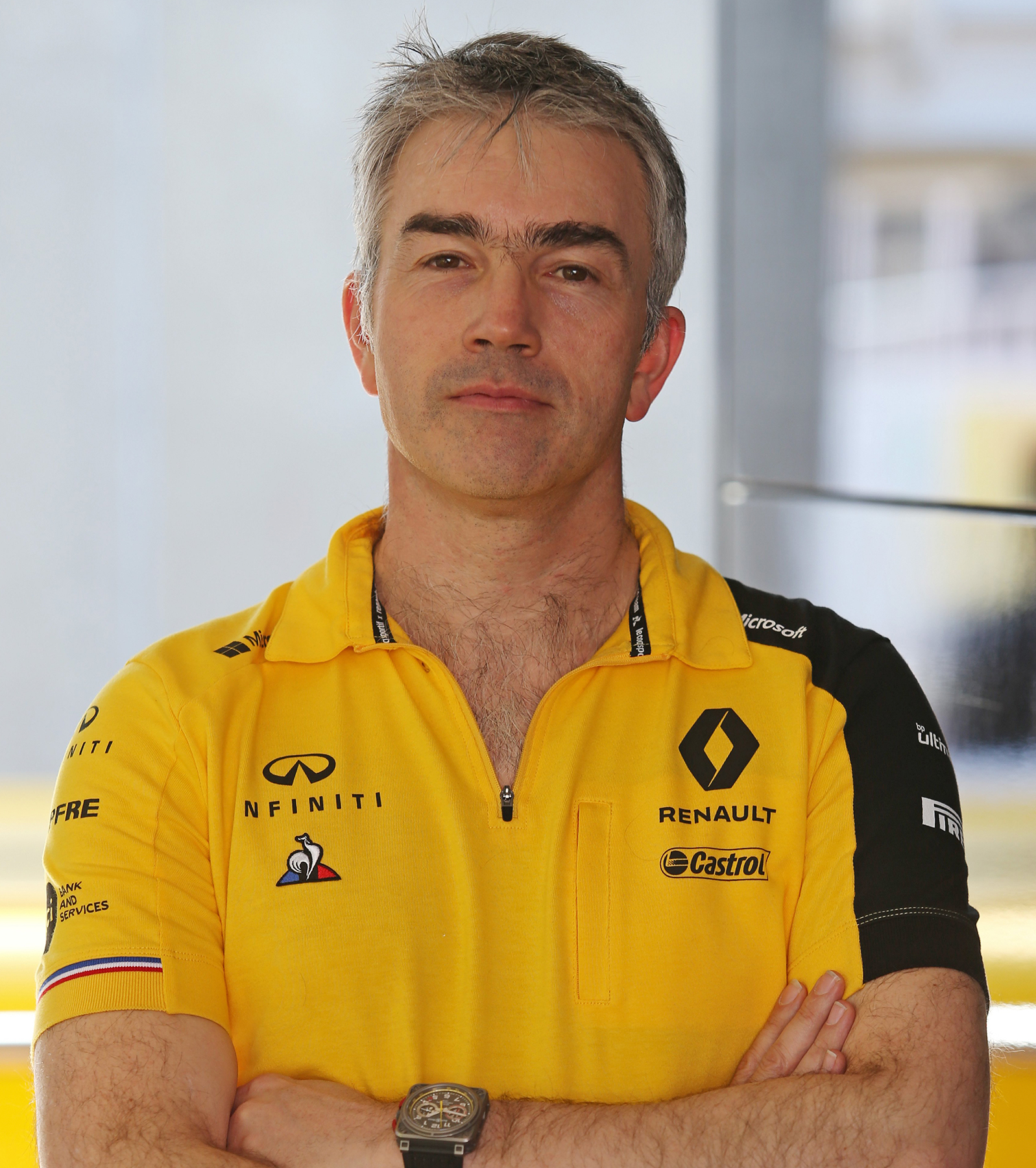 INFINITI and Renault Sport Formula 1 Nick Chester