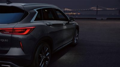 2019 INFINITI QX50 Luxury Crossover Welcome Lighting